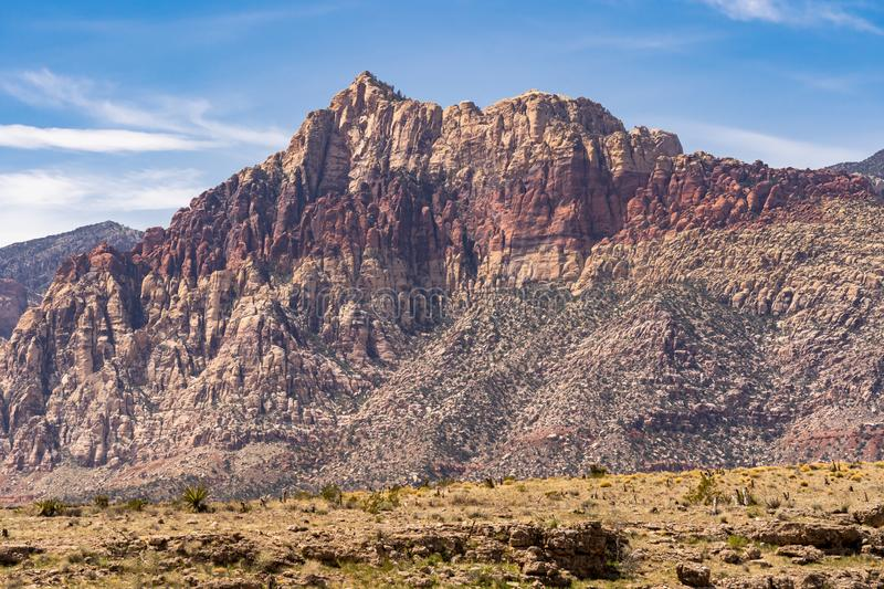 Red Rock Canyon Las Vegas Nevada USA royalty free stock photos