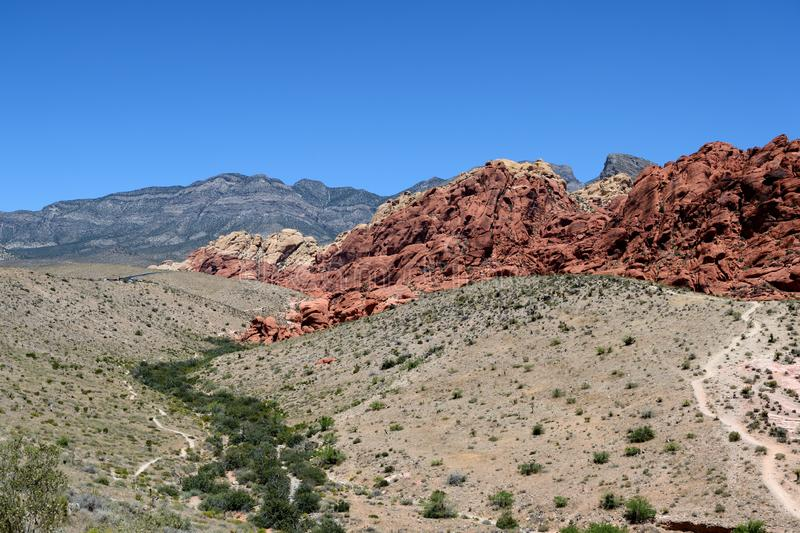 Red Rock Canyon National Conservation Area, Nevada royalty free stock photo