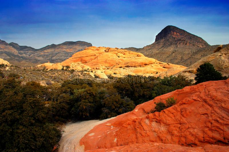 Red Rock Canyon, Nevada stock photography