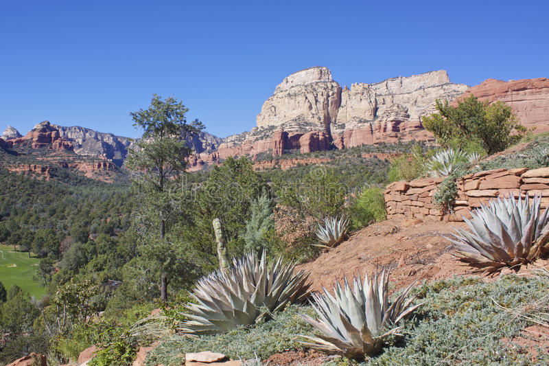 Red Rock Country, Sedona Arizona stock image