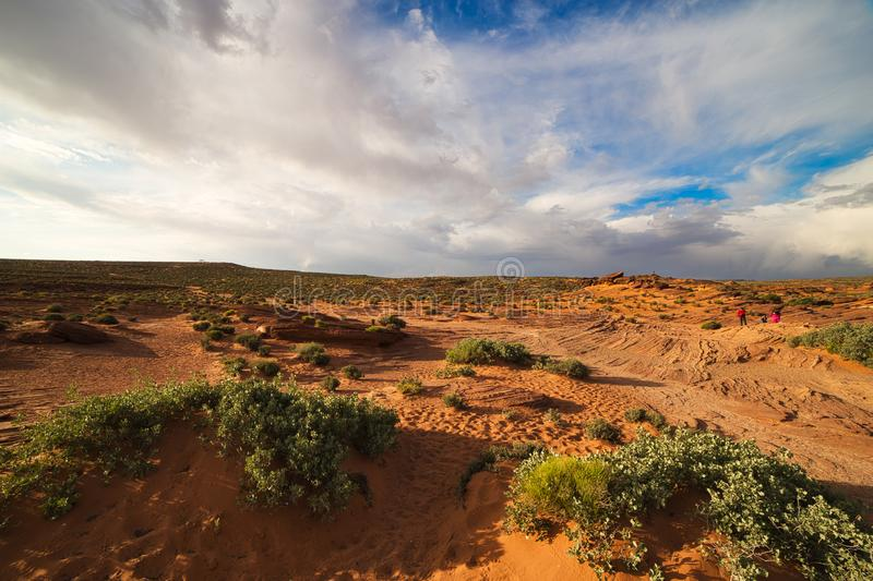 Red Rock Desert Landscape of Utah in the Iconic American Southwest. USA stock photos