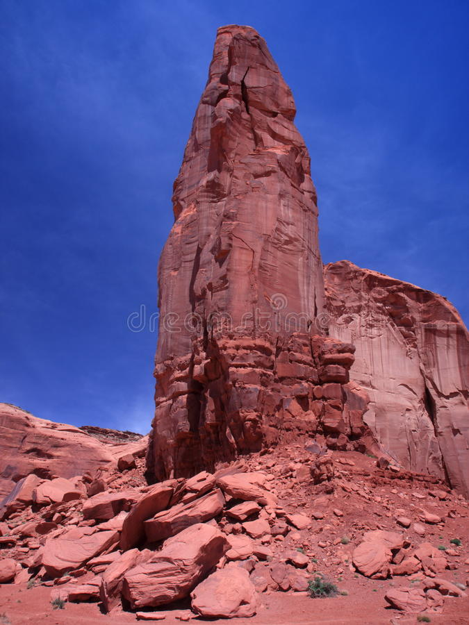 Download Red Rock Formation In The Monument Valley Stock Photo - Image: 14253584