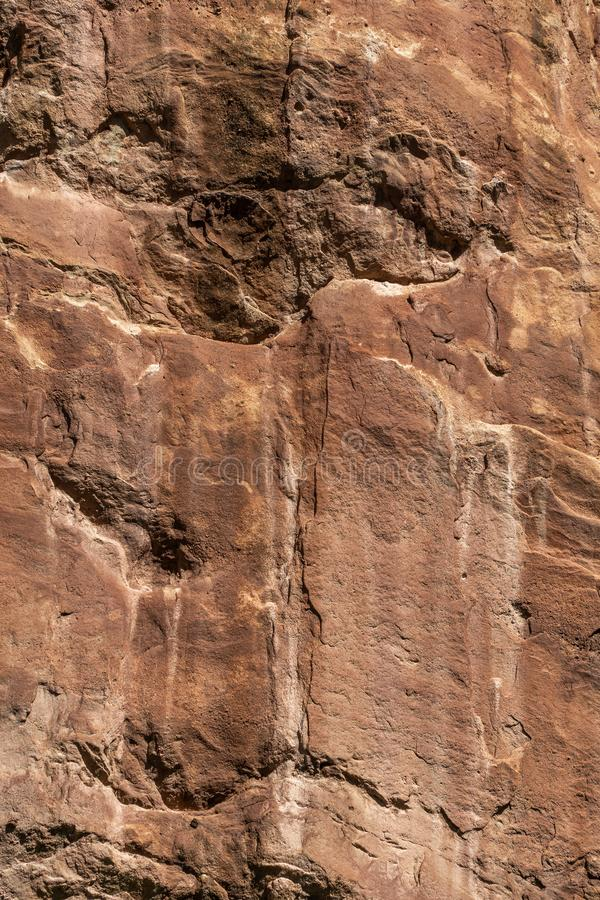 Red rock formation stone background texture royalty free stock images