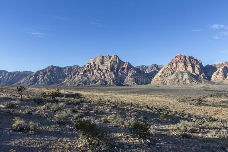Red Rock near Las Vegas Nevada stock images