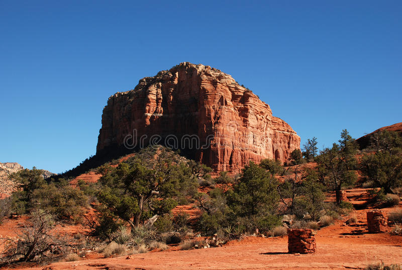 Download Red Rock Near Sedona, Arizona Stock Photo - Image: 11886064