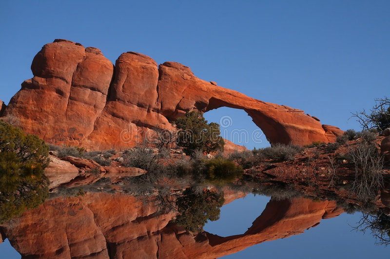 Red Rock Reflections royalty free stock images