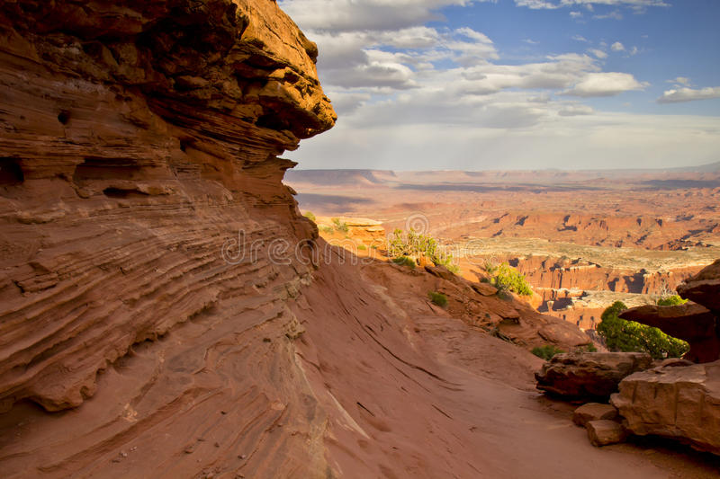 Red Rock view royalty free stock photo