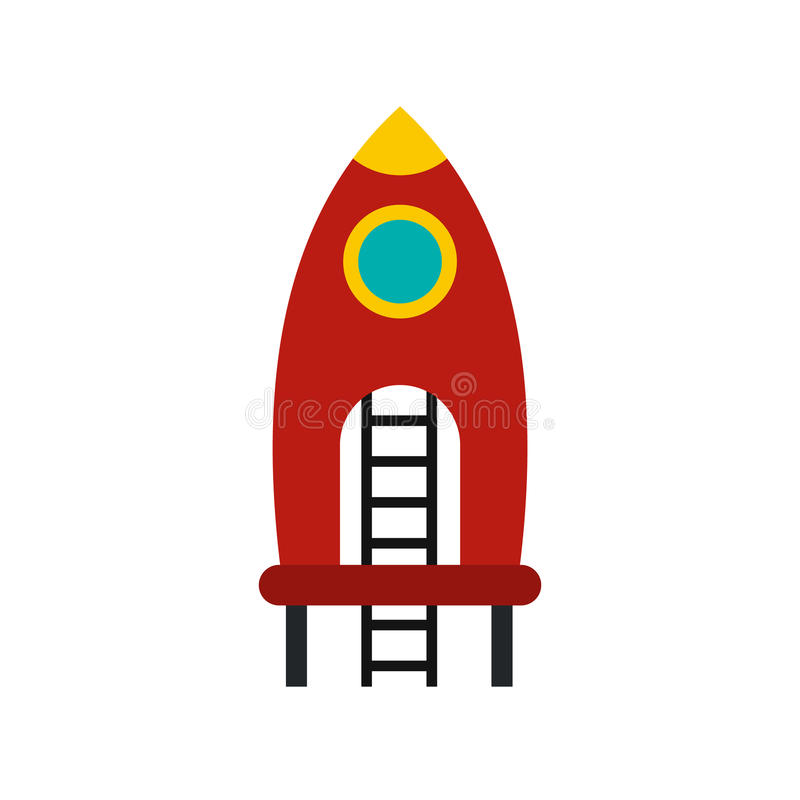 Red Rocket Icon Red Rocket With...