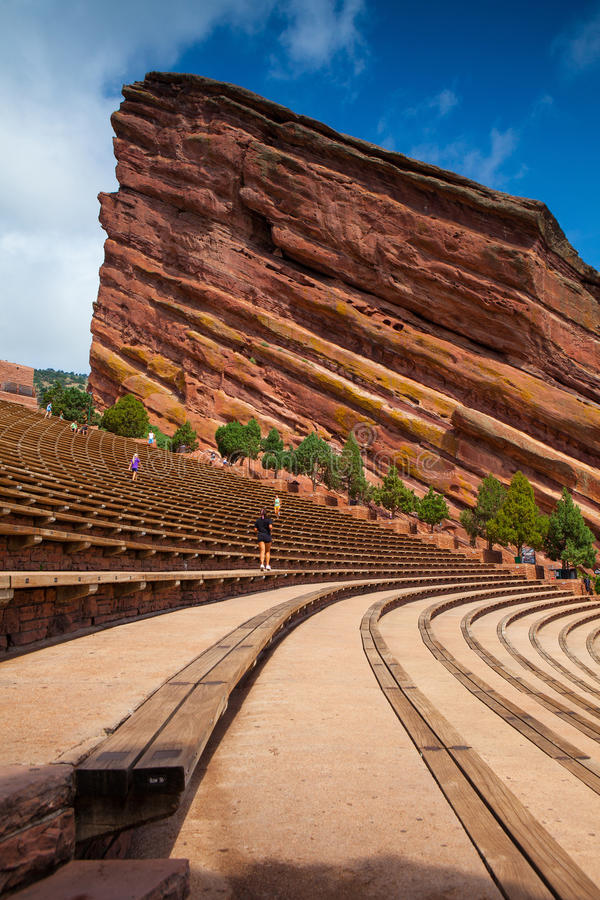 Free Red Rocks Amphitheater Royalty Free Stock Images - 45312239