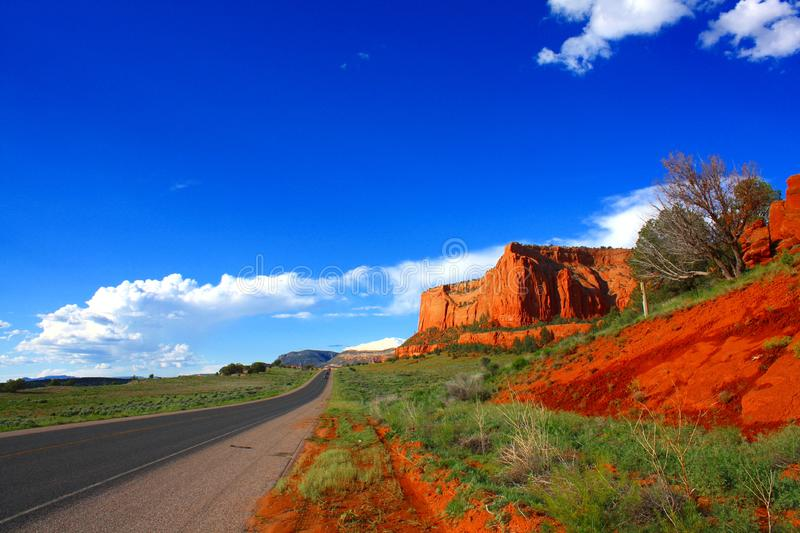 Red rocks in Arizona royalty free stock photography