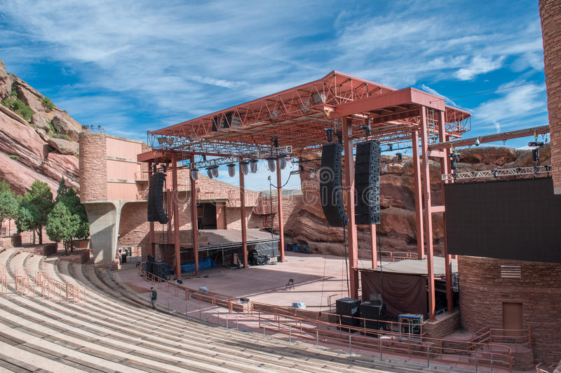Red Rocks Park stock photography