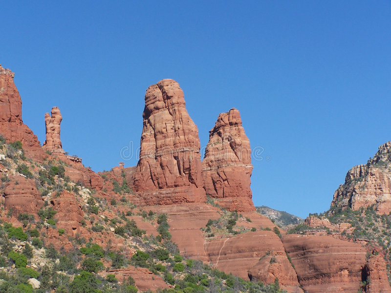 Red Rocks of Sedona stock photos