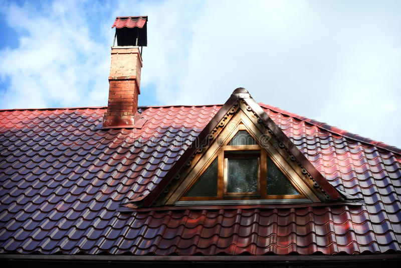 Download Red roof stock image. Image of skies, building, exterior - 21172547