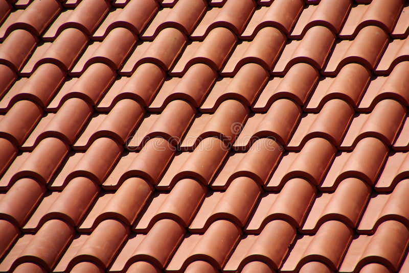 Download Red roof stock photo. Image of tiled, construction, abstract - 5747218