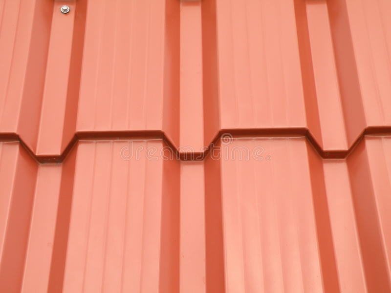 Red roof abstract. New red roof abstract suitable as background stock image