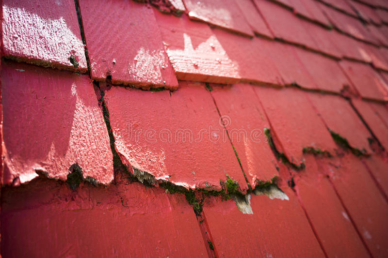 Download Red Roof Shingles Stock Photo. Image Of Work, Fibers   69323556