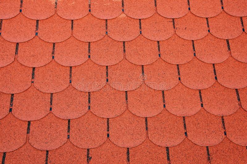 Beautiful Download Red Roof Shingles Stock Photo. Image Of Housing, Shadow   48528802