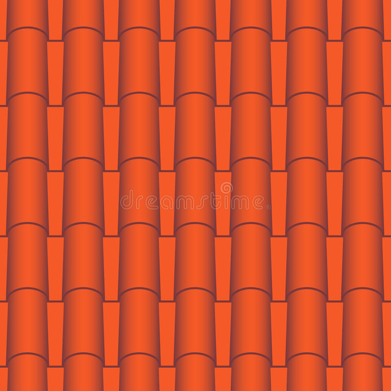 Roof Tile Seamless Stock Vector Illustration Of Abstract