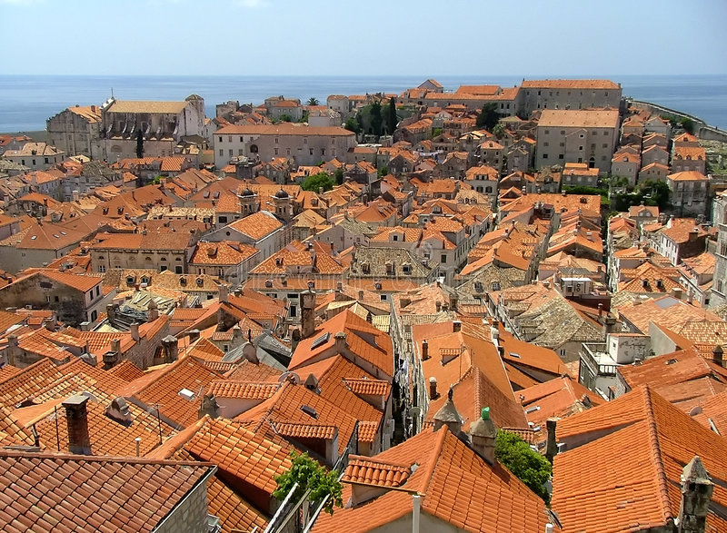 Download Red Roofs Stock Photos - Image: 198443