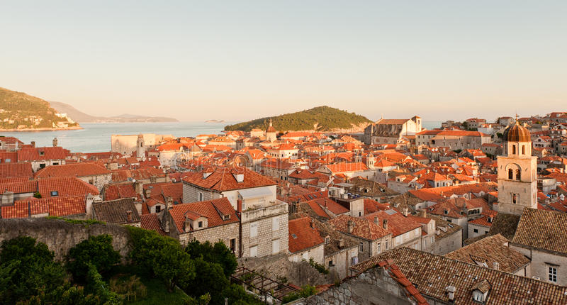 Download Red Roofs In Unesco Heritage Dubrovnik Stock Image - Image: 25597727