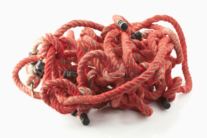 Download Red rope stock photo. Image of devour, danger, plaster - 22327944