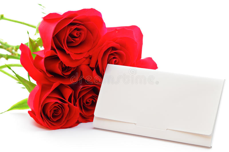 Red rose bouquet and gift card stock image image of group download red rose bouquet and gift card stock image image of group engagement negle Gallery