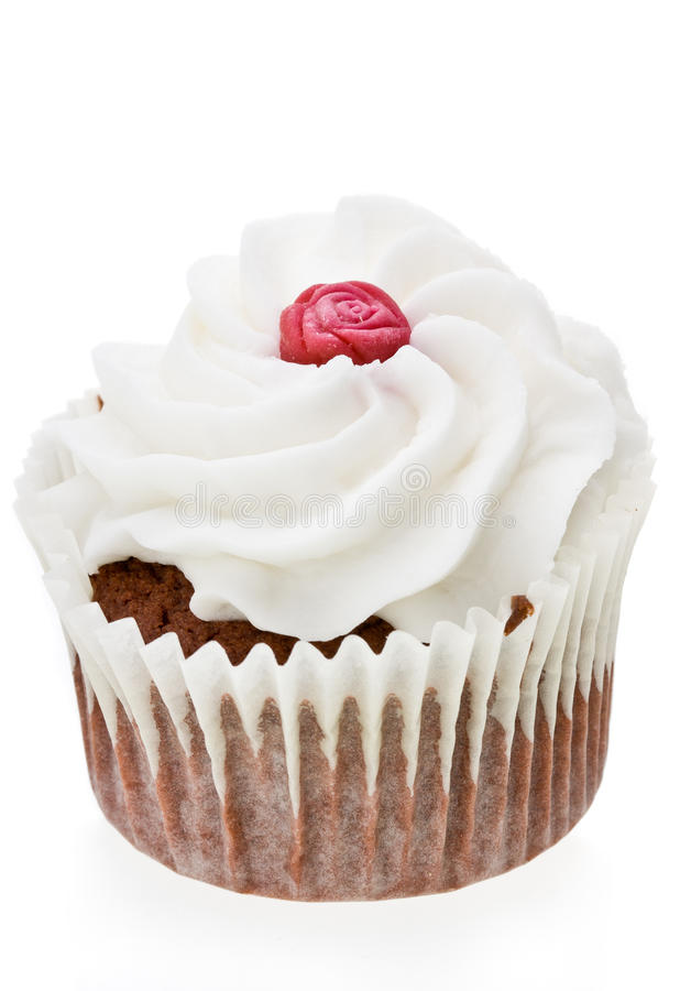 Download Red Rose Cupcake stock photo. Image of gourmet, food - 26120336