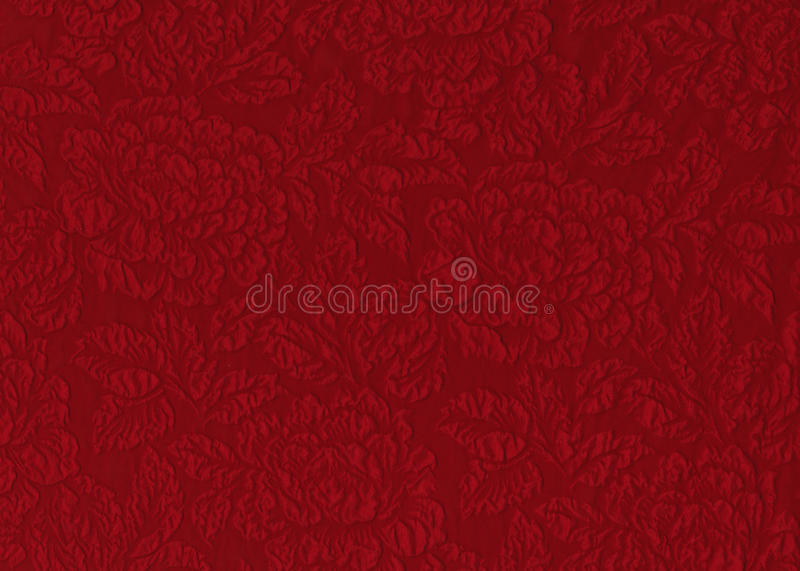 Red Rose Fabric Stock Photography