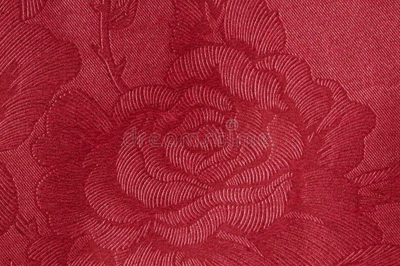 Download Red Rose fabric stock photo. Image of vintage, texture - 31854502