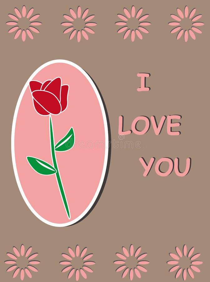 Download Red Rose  Template Frame Design Stock Vector - Image: 25065708