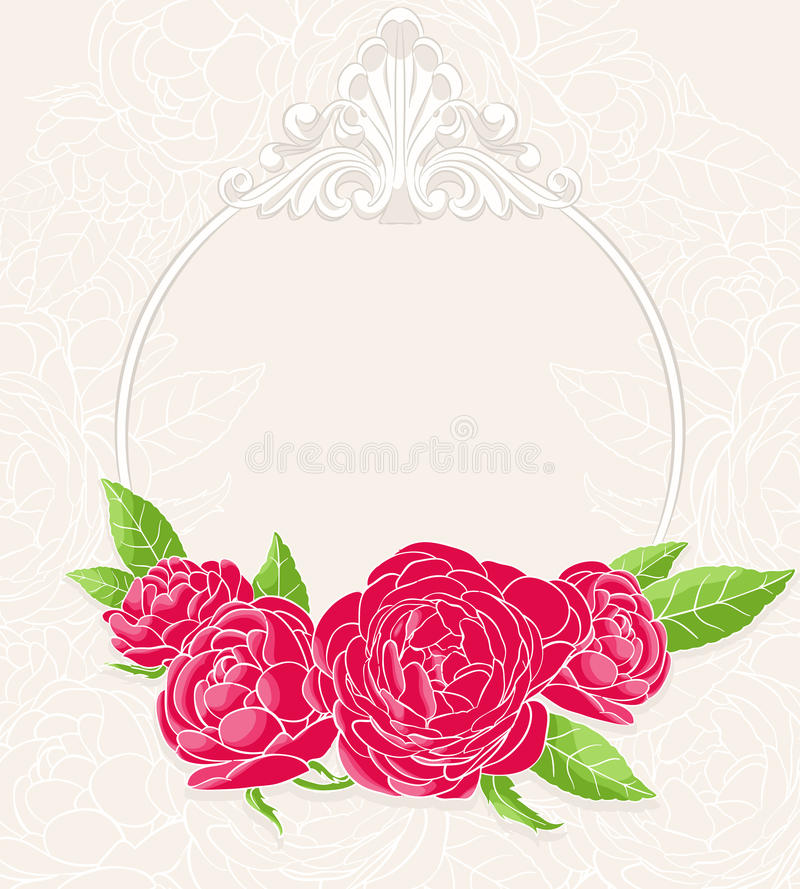 Download Red roses stock vector. Image of beautiful, roses, pink - 26536074