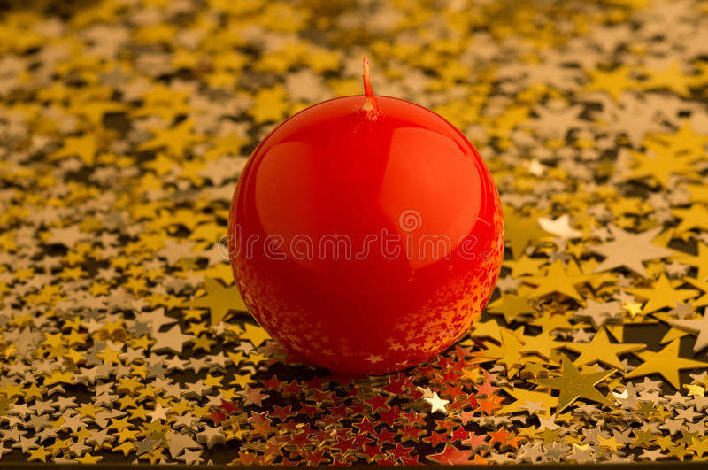 Download Red, Round Candle Stock Photography - Image: 27540902