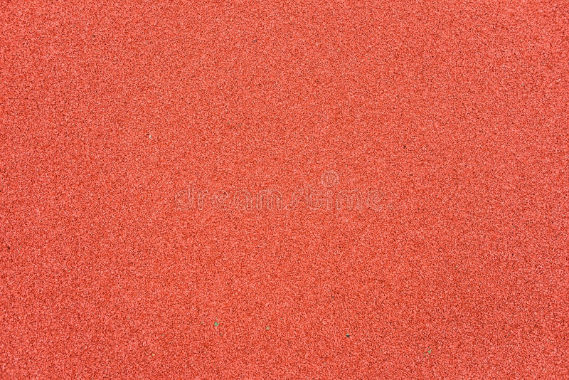 Red Rubber Floor On Playground Background Detail Stock