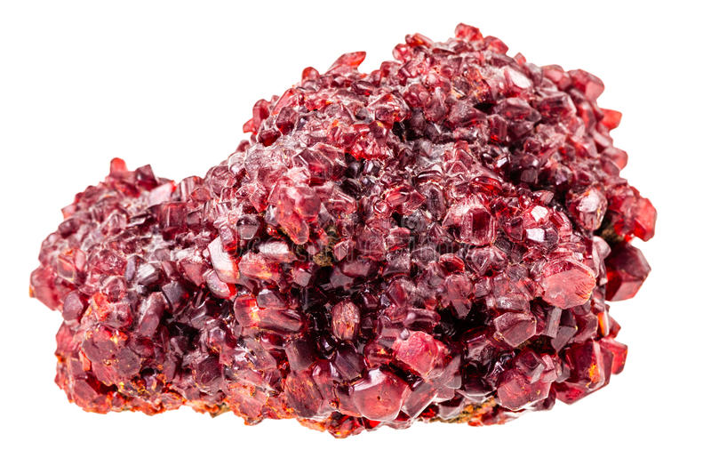 Red ruby stock photography
