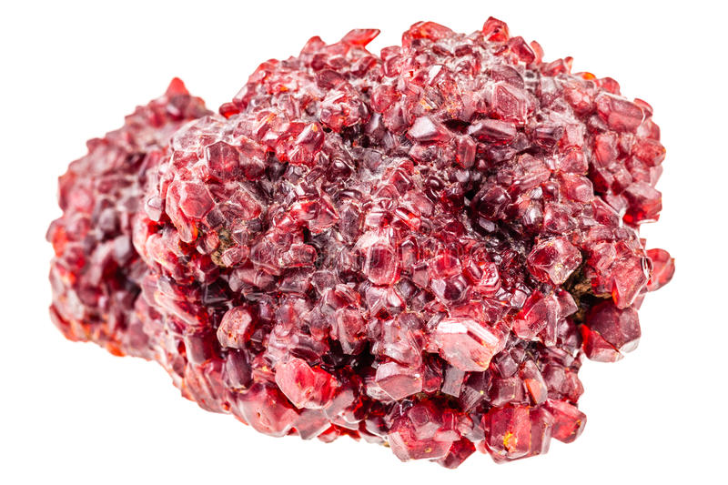Red ruby crystal royalty free stock images