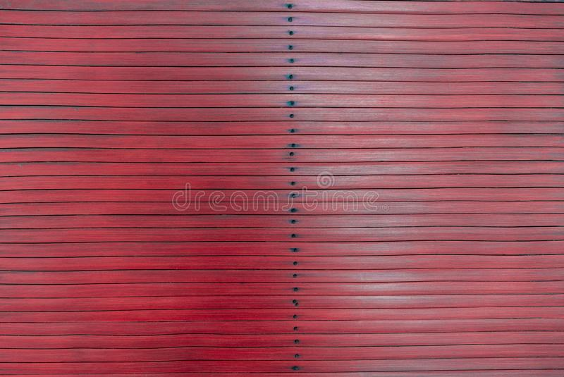 Red rustic striped wooden background. Timber style royalty free stock images