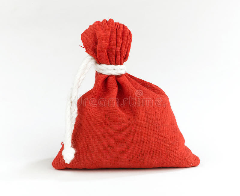 Download Red sack stock image. Image of velvet, money, tradition - 25557833