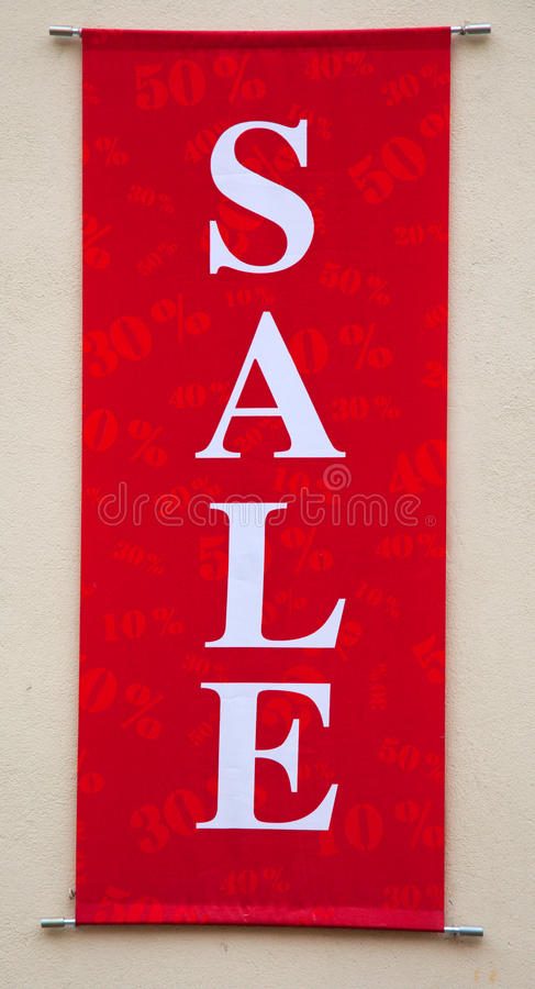 Download Red Sale Sign stock image. Image of business, sale, clearance - 11861247