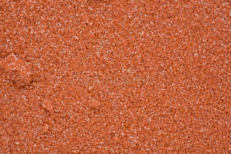Red Salt Crystals royalty free stock image
