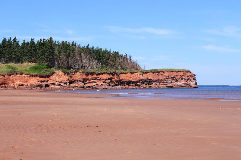 Download Red sand cliffs stock photo. Image of travel, beach, sand - 25754462