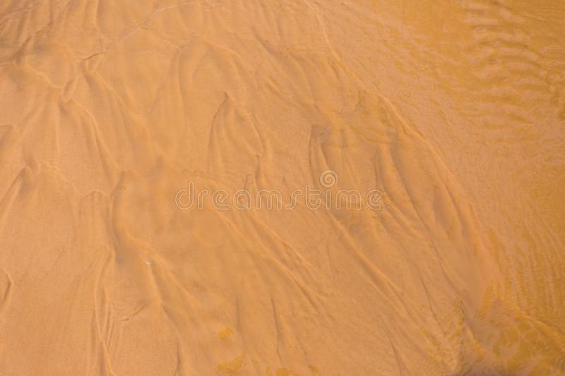 Red dune and red sand, Mui Ne, Phan Thiet, Vietnam stock photography
