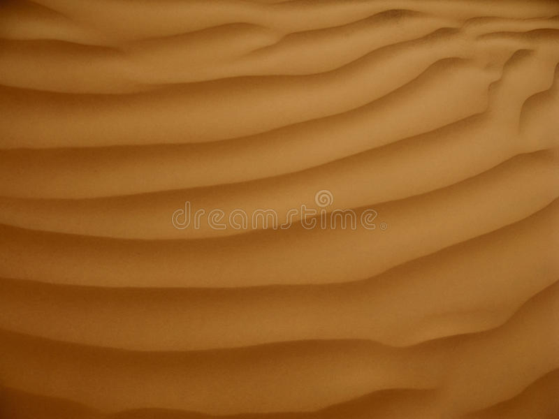 Red sand dunes stock photo