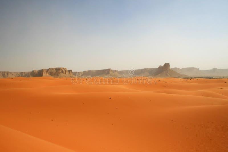 Red sands desert stock image