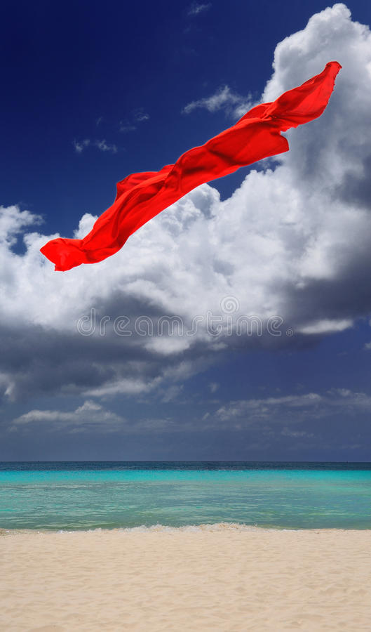 Free Red Sarong Royalty Free Stock Images - 12729659