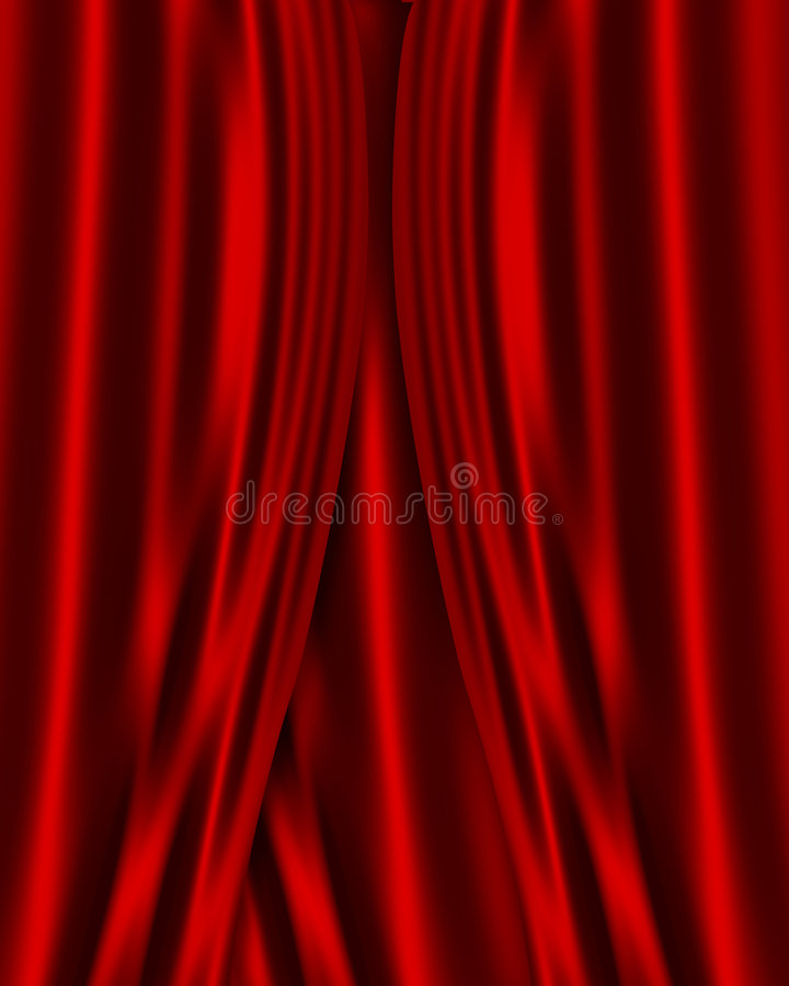 Download Red Satin Fabric Background Stock Illustration - Image: 7108708