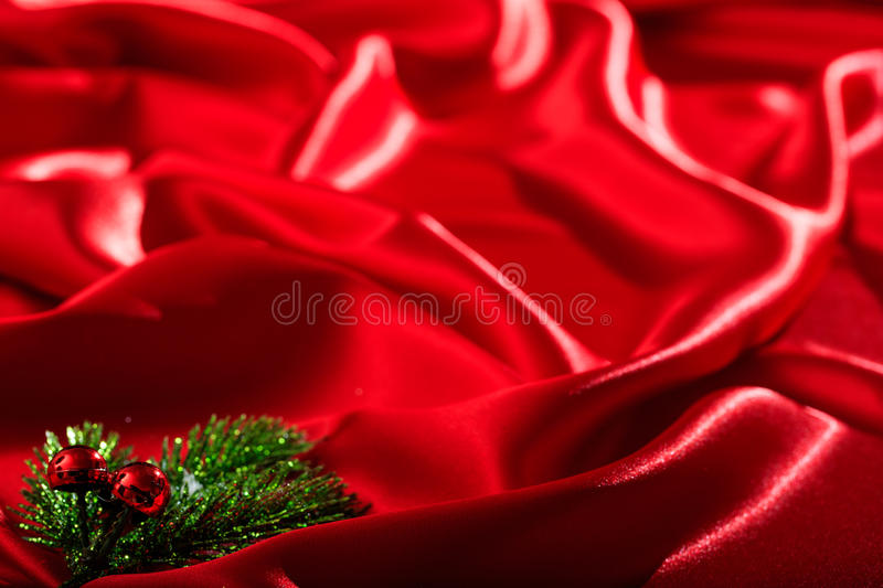 Red satin full background. Red satin textile full background stock images