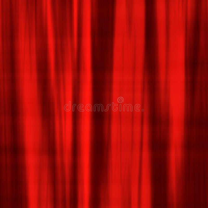 Red satin material stock illustration