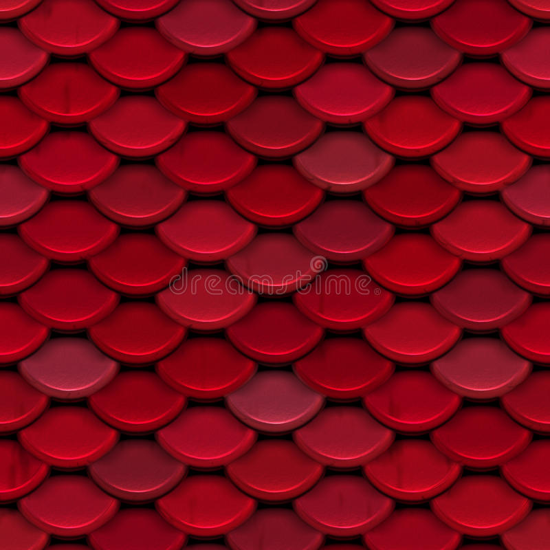 Red Scale Seamless Background Stock Image Image Of Light