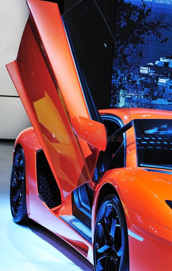 Download Red scissors door coupe stock photo. Image of autoshow - 26517794 & Red scissors door coupe stock photo. Image of autoshow - 26517794