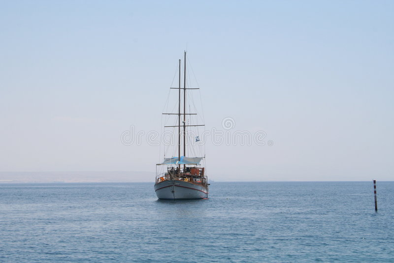 Download The Red Sea stock image. Image of summer, alone, anchor - 514389